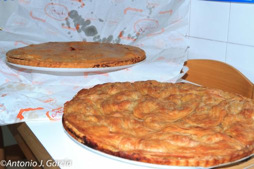 empanada y pastel