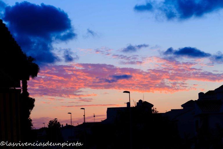 Nubes del ocaso