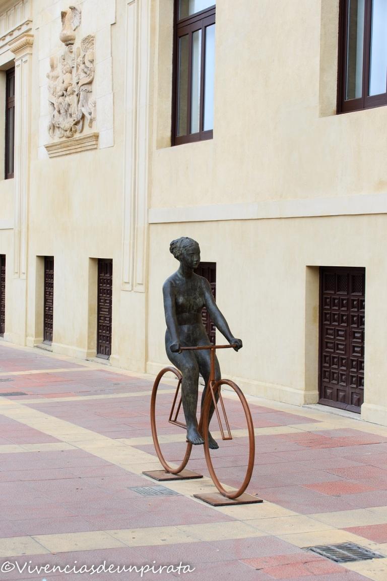 Venus en bicicleta