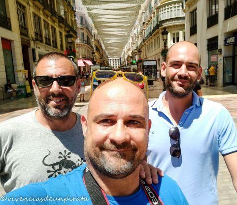Domingueros en Málaga