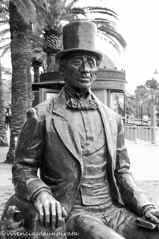 Ilustre visitante de Málaga